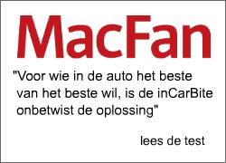 Voor wie in de auto het beste van het beste wil, is InCarBite onbetwist de oplossing.
